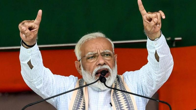 Congress is saying MeToo about surgical strike : Modi