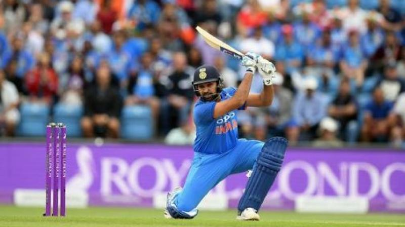 World record of Afridi broken by Rohit Sharma