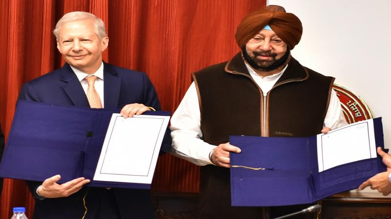 Punjab Govt. inks MoU with Virgo Corp. for Bio-Fuel project