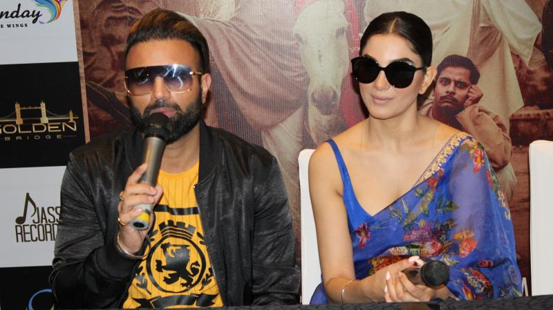 Yuvraj Hans and Monica Gill leading role in film Yaara Ve