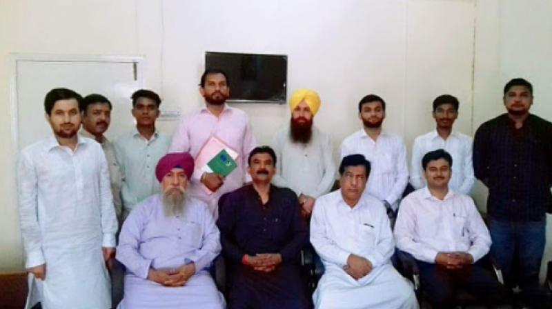 charanjit singh with other peoples