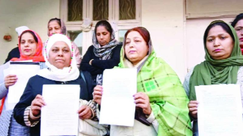 letter sent to the Jathedar of Akal Takht by the Samajwadi ladies