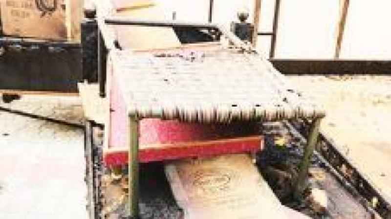 Sherpur Khurd : Guru Granth Sahib swroop burnt due to short circuit