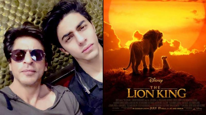 the lion king new teaser with simba aryan khan voice