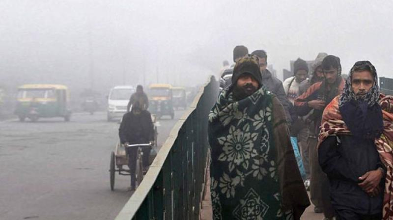 Cold temperatures reach 14.4 degrees Celsius in Leh