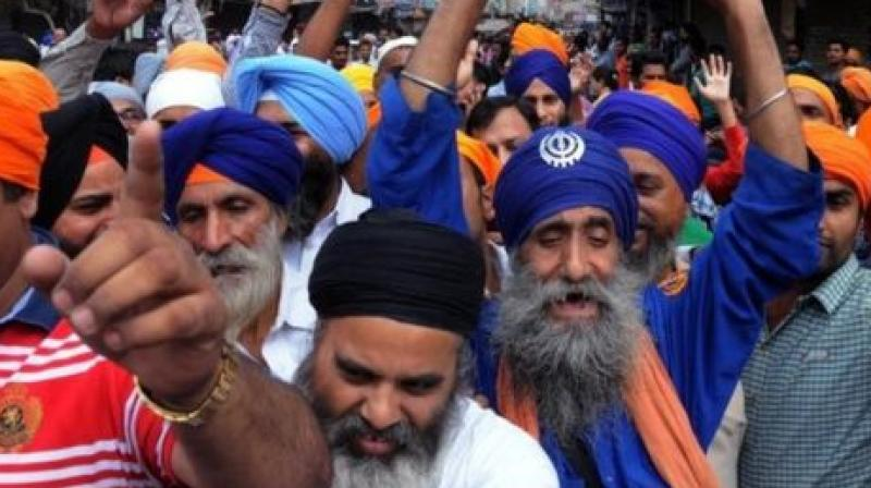 Sikh Protest against life imprisonment