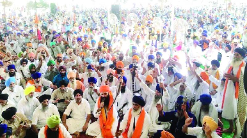 The ban on the celebration of Gurpurab and the kirtan during Badals tenure: Daduwal