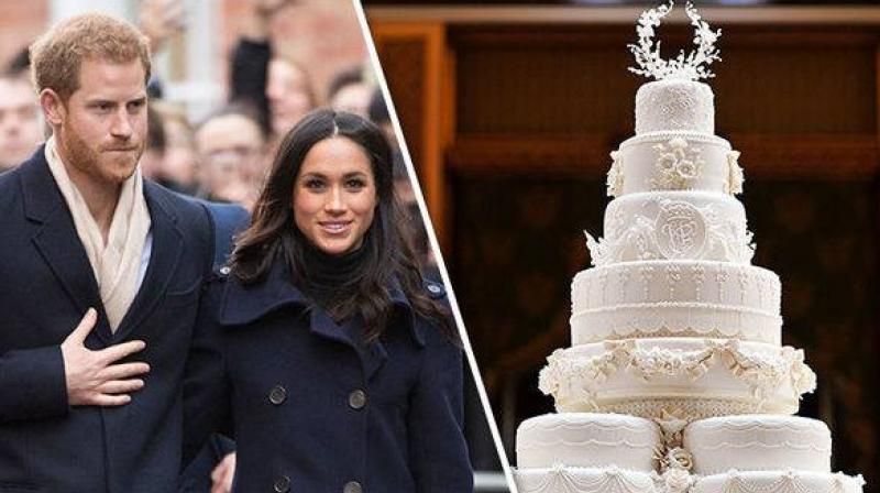 The Best Harry And Meghan Wedding Cake Photo