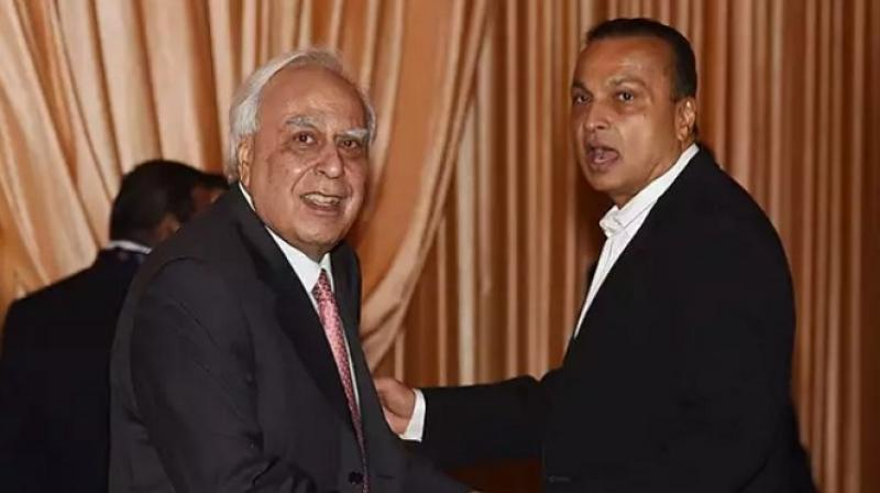 Kapil Sibal and Anil Ambani