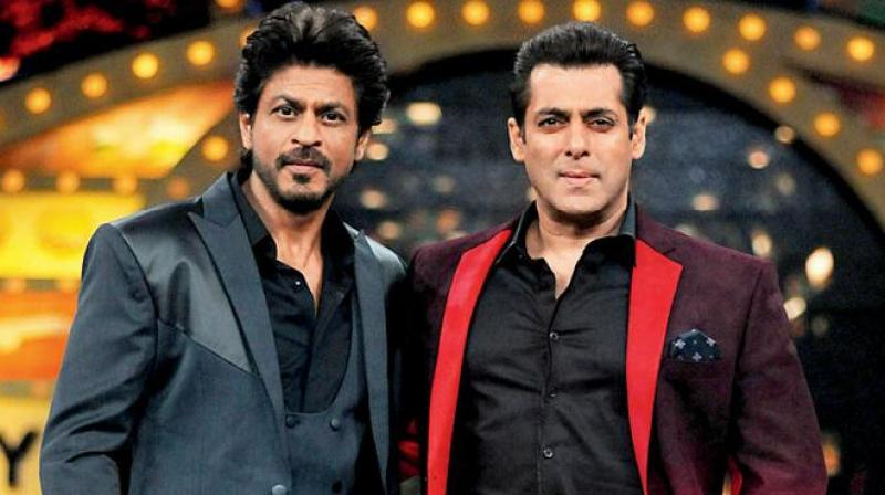 Salman Khan and Shahrukh Khan wished Eid to fans video goes viral