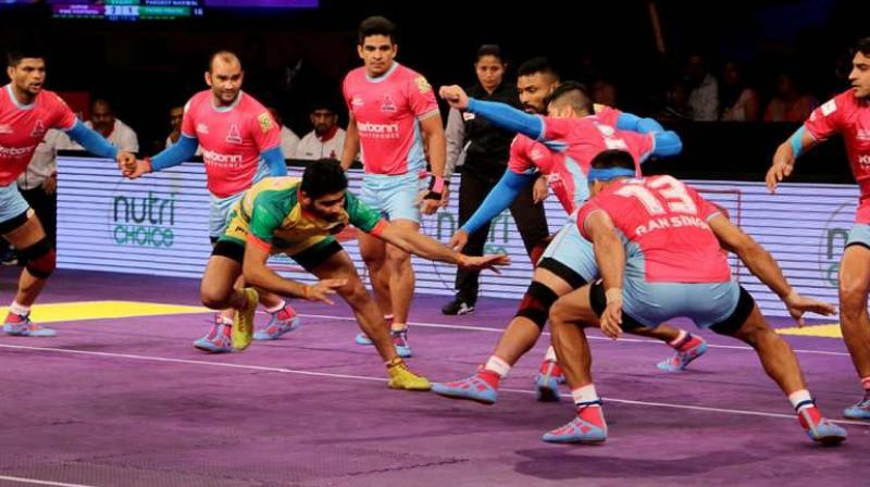 Patna Pirates and Jaipur Pink Panthers