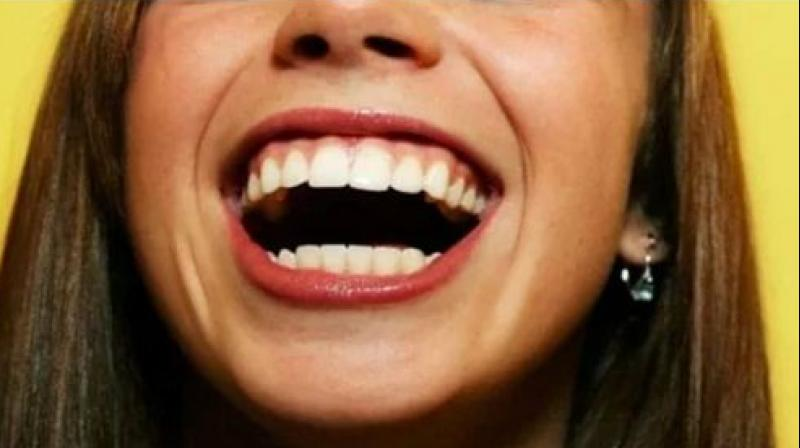 Woman Left With Mouth Stuck Open After She Laughed Too Loudly