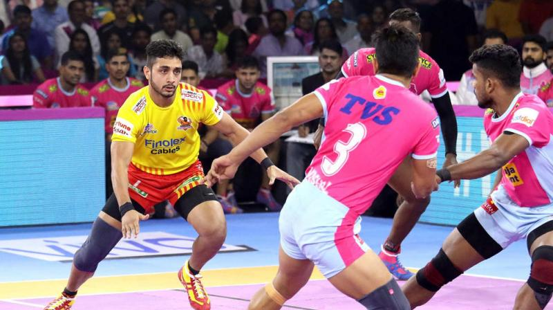 Jaipur Pink Panthers vs Gujarat Fortunegiants