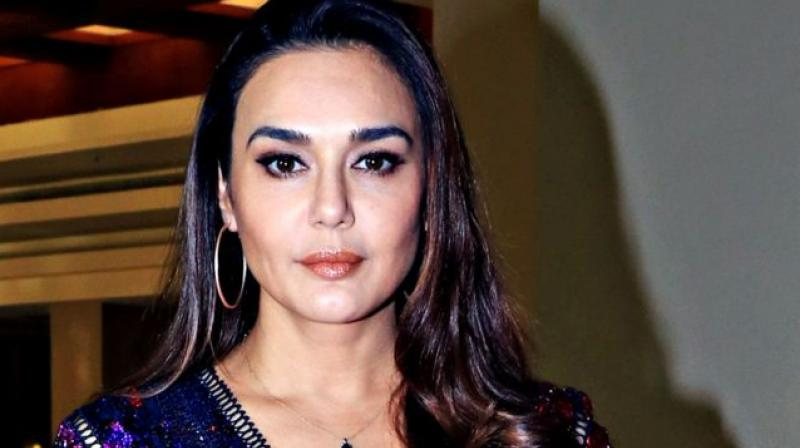 Preity Zinta Share Ghost On Trees Halloween Video Viral