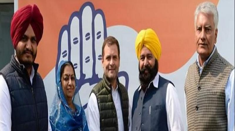 Sher Singh Ghubaya join Congress