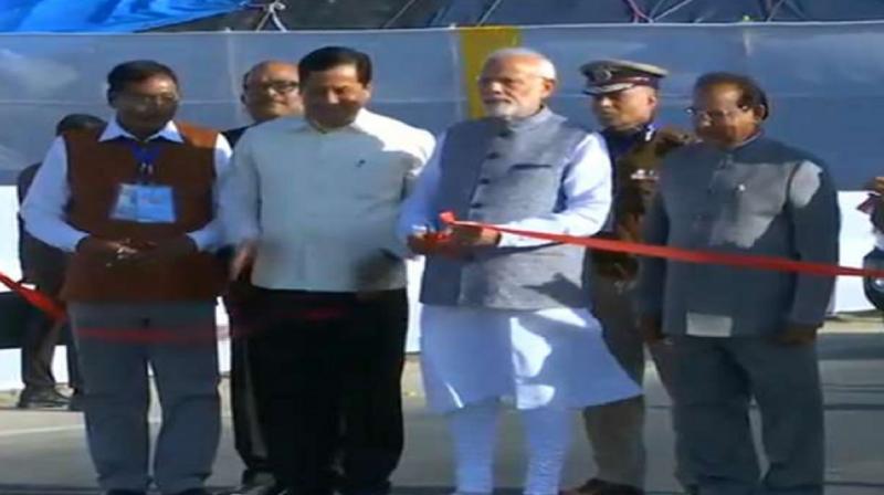 Inauguration of Bogibeel Bridge by PM Modi