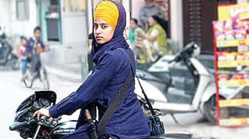 Sikh women in Chandigarh are not exempted from helmets