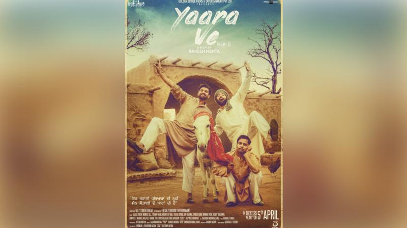 Official poster of the upcoming movie 'Yaara Ve'