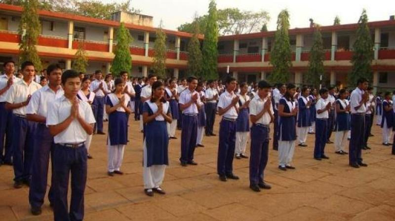 Government schools morning assembly