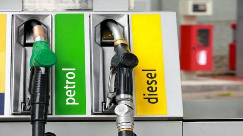 Petrol and diesel prices raised for third consecutive day