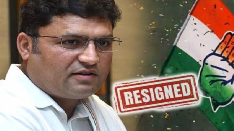 Ex haryana congress chief ashok tanwar polls before resigns from party