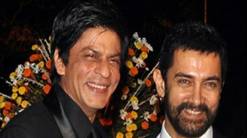 shahrukh khan and amir khan