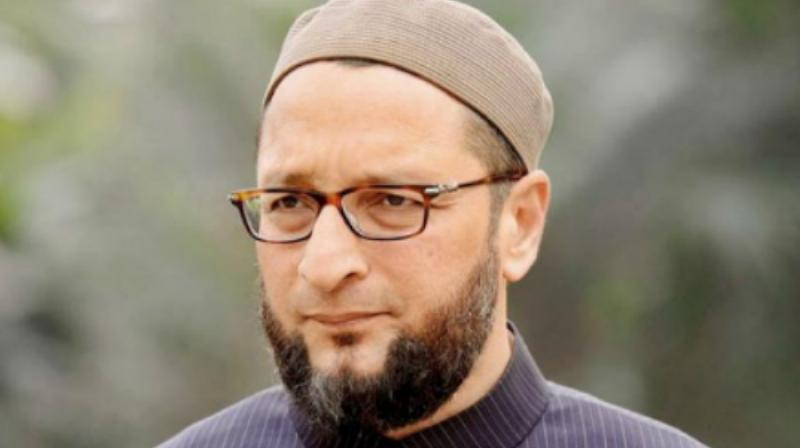 Asaduddin Owaisi says Allahu Akbar as MPs chant Jai Shri Ram in Lok Sabha
