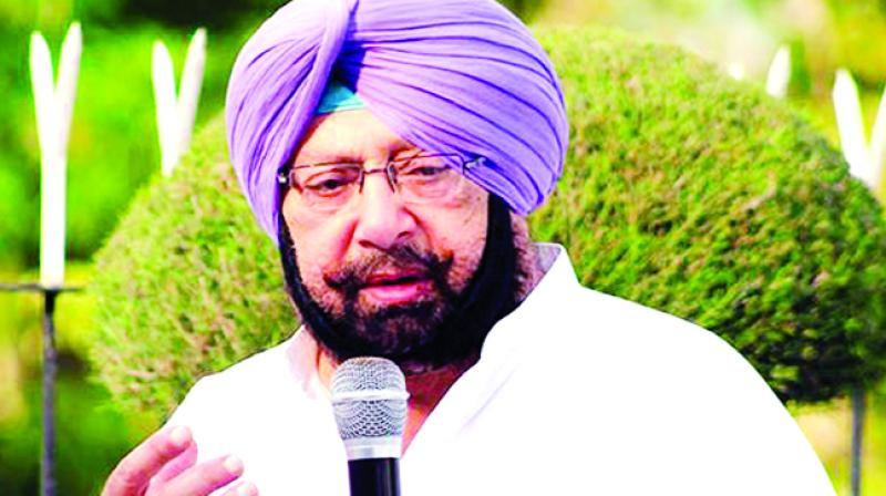 Amarinder Singh Chief minister of Punjab