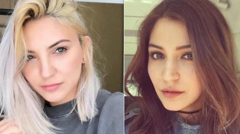 Julia Michaels and Anushka Sharma