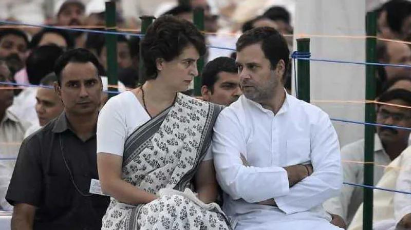 Rahul Gandhi and Priyanka Gandhi gave remark on aligarh murder