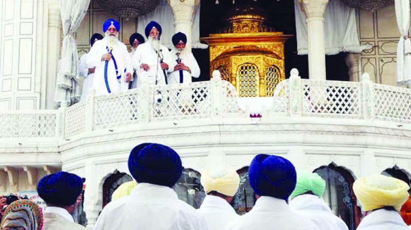 Hukam Nama at Darbar Sahib