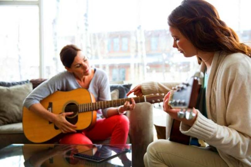 playing guitar is beneficial for your heart