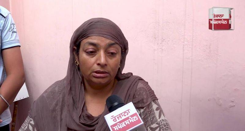 Mother of Amanpreet Kaur