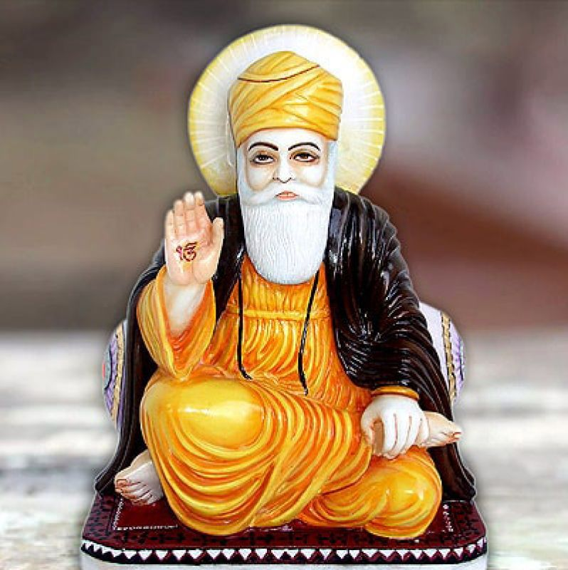 Guru Nanak Dev Ji Statue