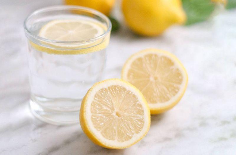 lemon water,
