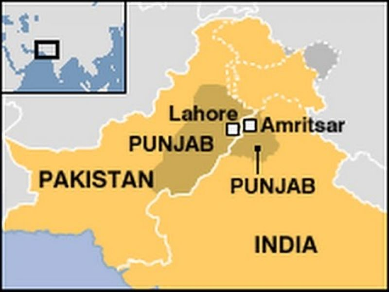 Pakistani Punjab and Indian Punjab