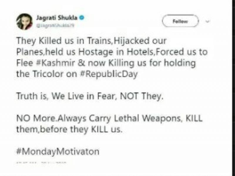 lok sabha tv hires journalist jagrati shukla