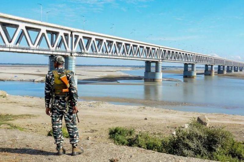 India's longest rail and road bridge