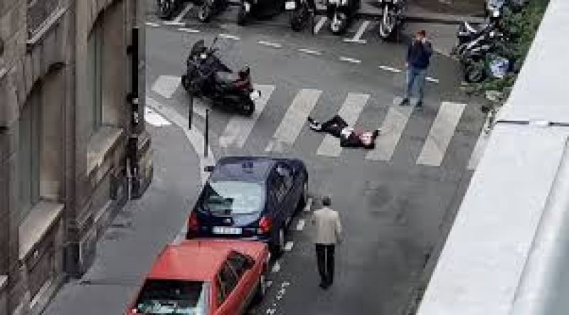 paris 1 killed in knife attack is takes responsibility