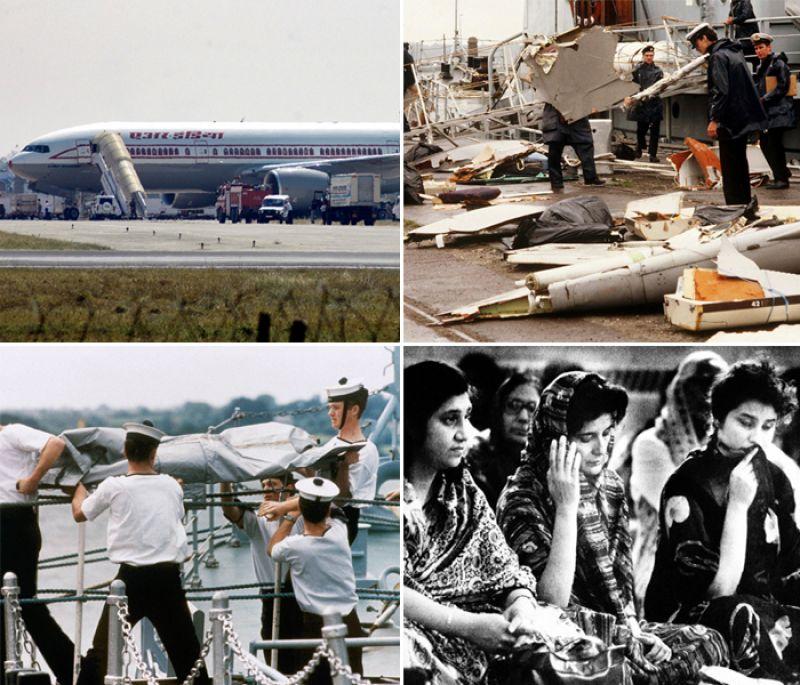 Air India (AI) flight 182 Bomb blast