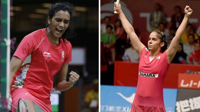 CWG 2018: Saina wins gold, silver has done to Sindhu with silver