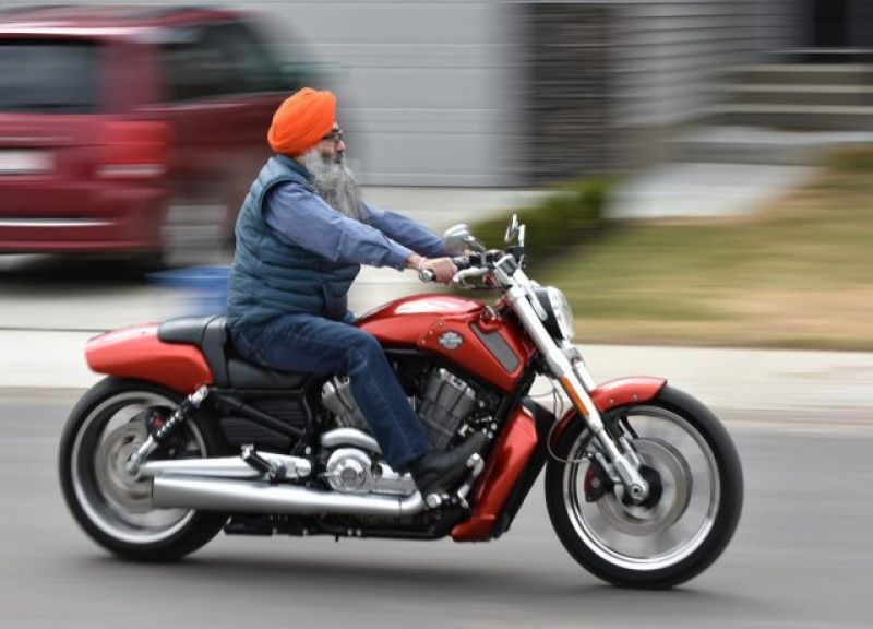 Sikhs have to wear helmet