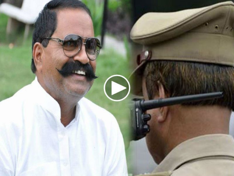 Suspended police inspector, 'Save the BJP leader if he avoids incinerator'