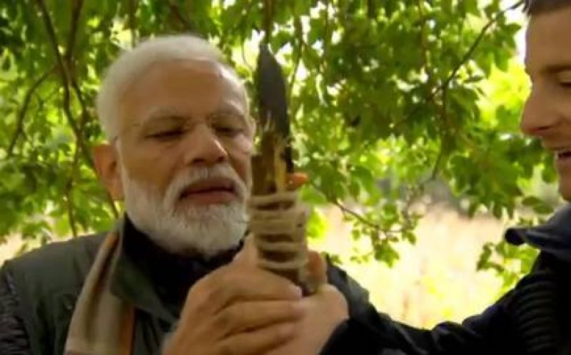 PM Modi to appear in Man vs Wild Show today