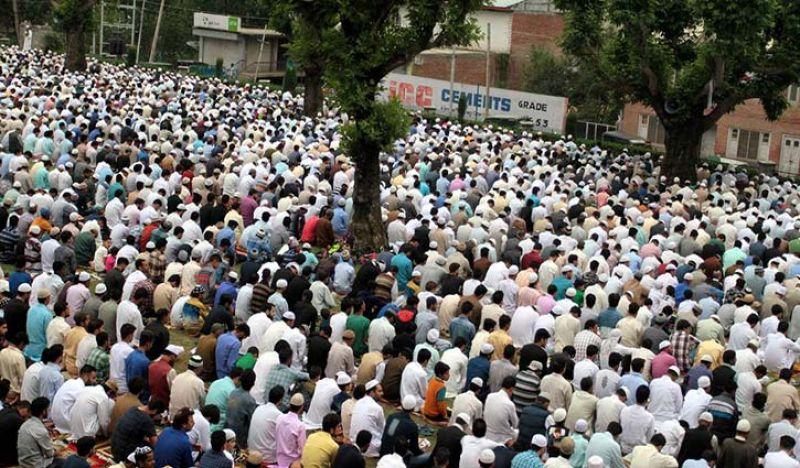 Eid-al-Adha prayers conclude peacefully in J&K