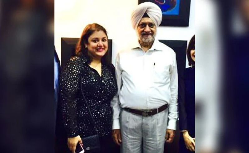 Rajinder Singh Cheema Advocate and daughter Tarannum