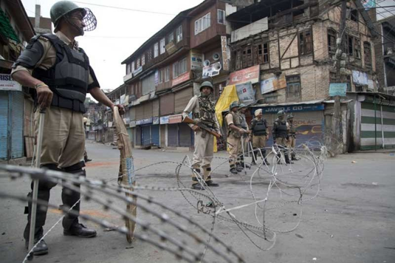 Clashes between youth and security forces in Jammu Kashmir