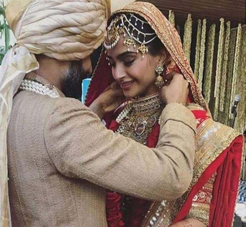Sonam Kapoor And Anand