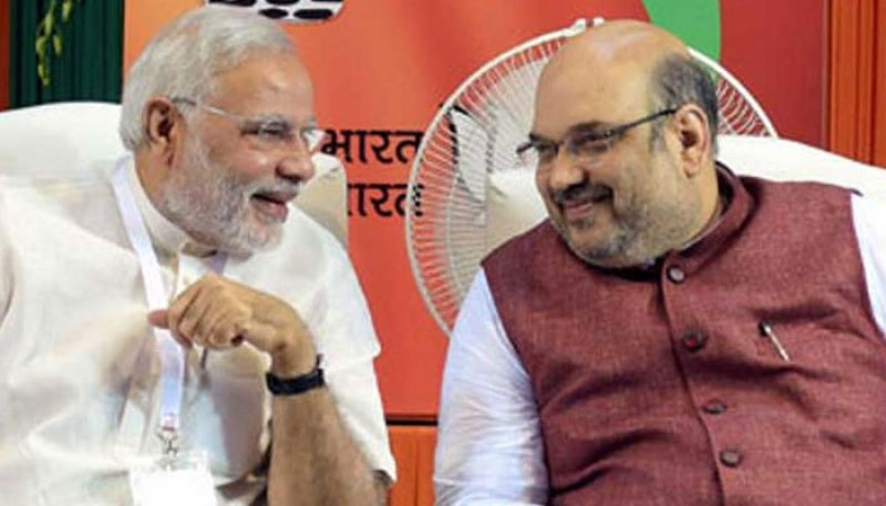 PM Modi and Amit Shah