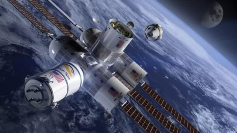 the first luxury hotel in space